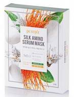 Маска для лица с протеинами шелка Silk Amino Serum Mask - 10 шт.